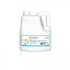 Solara Liquido Bucato A Mano E In Lavatrice 4 Litri Tanica Bioplastica