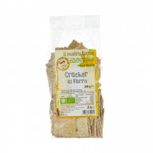 Cracker al farro biologici - 200 gr