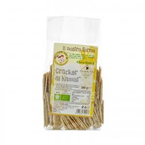 Cracker al Kamut biologici - 200 gr