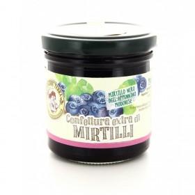 Confettura extra di mirtilli biologica - 170 gr