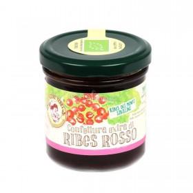 Confettura extra di ribes rosso biologica - 170 gr